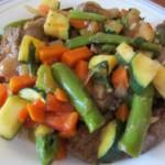 Orange Beef and Vegetable Stir Fry