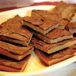 Frozen Peanut Butter Bars