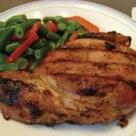 Orange Marmalade Pork Chops