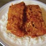 Spicy Tofu Enchiladas