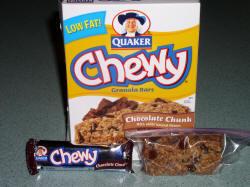 Quaker granola bars